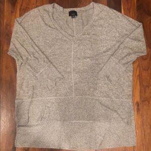 Lumiere High Low Split Side sweater